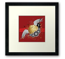 Abstract party design 3 Framed Print