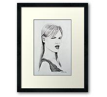 sketch 3 Framed Print