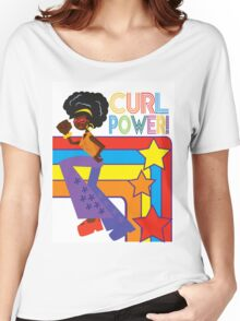 Curl Power Women's Relaxed Fit T-Shirt