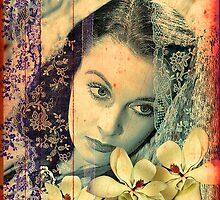 Scarlett O'Hara and the Magnolias of Tara by PrivateVices