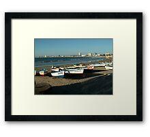 Fishing Boats... Mazatlan Framed Print
