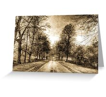 Greenwich Park London Vintage Greeting Card