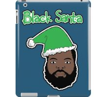 Black Santa iPad Case/Skin