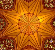 Ceiling of the Chapter House, York Minster, York, England by acaldwell
