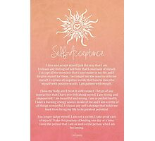 Affirmation - Self-Acceptance Photographic Print