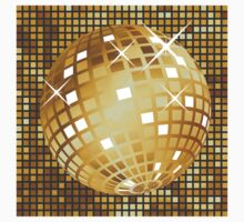 Golden disco ball Kids Clothes