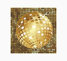 Golden disco ball Unisex T-Shirt