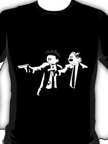 Calvin & Hobbes Pulp Fiction T-Shirt