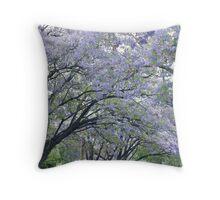 Jacaranda Arch Throw Pillow