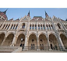 Budapest Parliament Building in Hungary Photographic Print