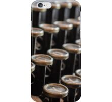 Old Typewriter iPhone Case/Skin