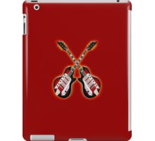 Double cool vintage guitar iPad Case/Skin