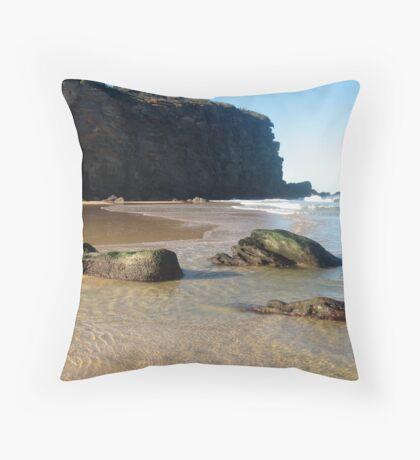 Redhead Beach Throw Pillow