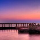 WHITBY HARBOUR AT SUNRISE by antonywilliams