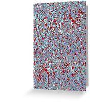 Informel Art Abstract Greeting Card