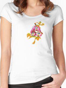 Pumpkin Kids t-shirt Women's Fitted Scoop T-Shirt