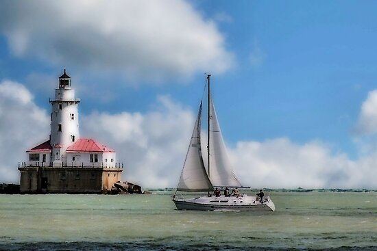 SAILING ALONG by mlynnd