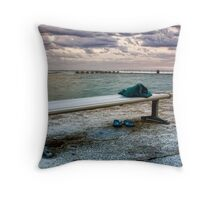 I'll Be Waiting Throw Pillow