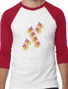 Pumpkin Girls t-shirt Men's Baseball ¾ T-Shirt