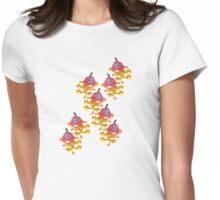 Pumpkin Girls t-shirt Womens Fitted T-Shirt