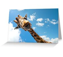 Hello Giraffe! Greeting Card
