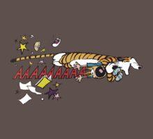 Hobbes Attacking Calvin-1 Kids Clothes