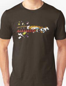 Hobbes Attacking Calvin-1 Unisex T-Shirt
