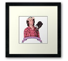 Danny Flowerbang <3 Framed Print