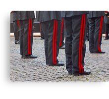 Musical military band Canvas Print