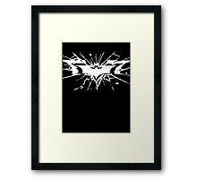 Batman The Dark Knight Rises Framed Print