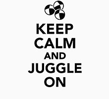 Keep calm and juggle on Unisex T-Shirt