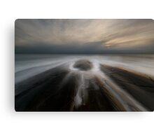 eye of the ocean Canvas Print