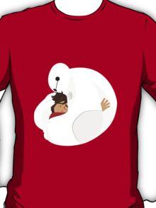 Big Hero 6 - Baymax Hugs Hiro T-Shirt