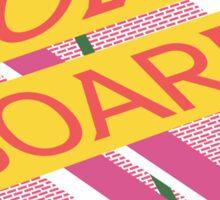 Hover Board Design Sticker