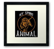 My Spirit Animal Framed Print