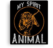 My Spirit Animal Canvas Print