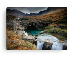 The Fairy Pools : Isle of Skye  Canvas Print