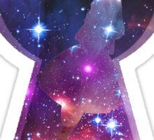 Alice in Wonderspace Sticker