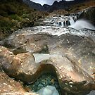 The Fairy Pools : Isle of Skye II by Angie Latham