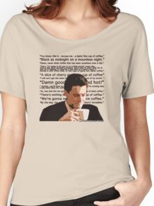 Agent Cooper - Coffee Women's Relaxed Fit T-Shirt