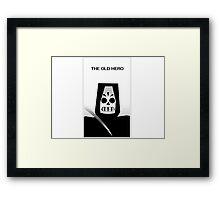The Old Hero Framed Print