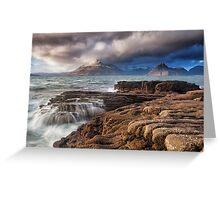 Elgol, Isle of Skye Greeting Card