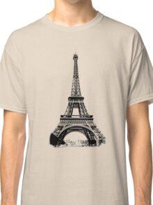 Eiffel Tower Digital Engraving Classic T-Shirt