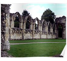 Ruins of St Mary's Abbey Poster