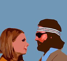 The Royal Tenenbaum - Margot and Richie  by BEGROTESQUE