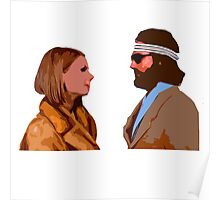 The Royal Tenenbaum - Margot and Richie  Poster