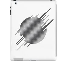 ABshapes in a disc  iPad Case/Skin