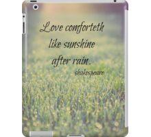 Shakespeare Love iPad Case/Skin