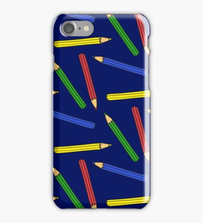 Colour me nicely (Blue version) iPhone Case/Skin