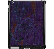 Maine USGS Historical Map Readfield 102912 2000 24000 Inversion iPad Case/Skin